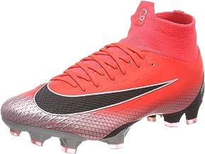 Nike Men's Footbal Shoes, Red BRT Crimson Black Chrome Dk Grey 600, US 7.5