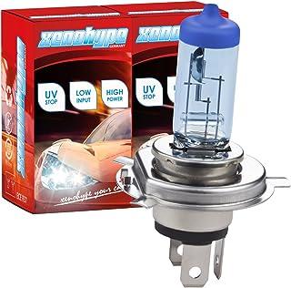 Xenohype 2x H4 Xenon Look Ultra Halogenlampe 12V 60/55 Watt P43t