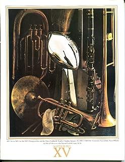 Super Bowl XV 15 Program 1/25/1981 Raiders (27) Eagles (10) Superdome NMT 26295