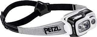 PETZL, Swift RL Rechargeable Headlamp with 900 Lumens & Automatic Brightness Adjustment, Black