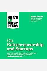 HBR's 10 Must Reads on Entrepreneurship and Startups Audible Audiobook