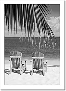 Americanflat 13x19 Poster Frame in White - Composite Wood with Shatter Resistant Glass - Wall Mounted Horizontal and Verti...