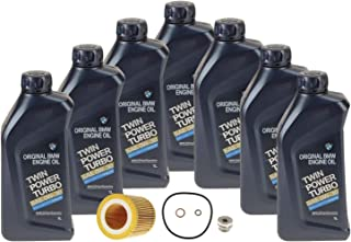 Genuine 0W-30 7 Liter Oil Change Kit For BMW F80 M3 F82 F83 M4 2015