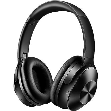 【ハイブリッド型ドライバー】 ノイズキャンセリング ヘッドホン ワイヤレス AAC Bluetooth マイク内蔵 折りたたみ OneOdio A9