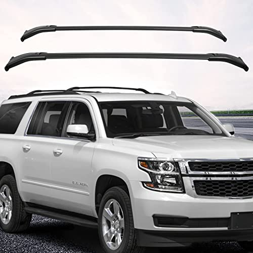 discount Mophorn Roof Rack Cross Bars Compatible new arrival with 2015-2018 Chevrolet Tahoe/Chevrolet Suburban/GMC Yukon/Cadillac high quality Escalade outlet sale