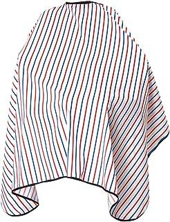 1 pc listrado pano de cabelo pano Perm coloração adulto crianças listra impermeável pano pano pano capa capa capa para bar...