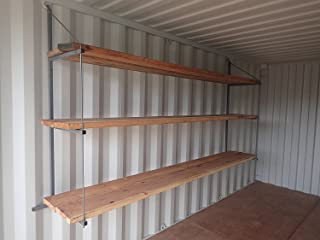Shipping Container Hanging Shelve Brackets (Steel, large)