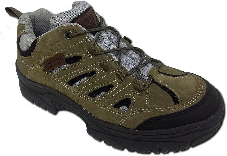 Itasca blåff Creek herrar herrar herrar Striker läder Trail Hiking skor, 10 D US, Olive, Rubber Outole  Lagra