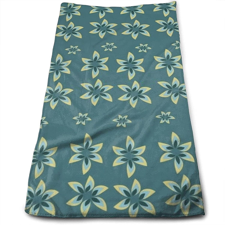 Epushow Tropical Autumn Leaf Handkerchief Kitchen Bathroom Handkerchief Soft Polyester Microfiber