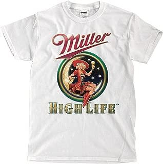 Miller High Life Beer White T-Shirt