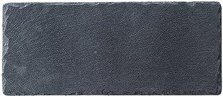 テーブルウェアイースト 長角 ナロースレートプレート 35cm 黒 34.7 x 15 0.7 cm ko-W1-3011-0