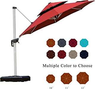 patio umbrella bar height pole