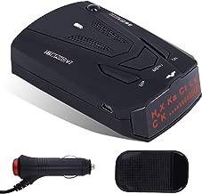 $27 » Radar Detector V7, 360 Degree Laser Radar Detection with LED Display Voice Prompt and Car Speed Testing System, City/Highway Mode Radar Detector for Cars(FCC Certification)