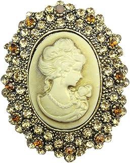 TOOKY - Broche de resina, con detalles brillantes, imagen en