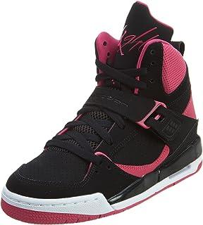 Jordan Nike Kids Flight 45 High IP Gg Basketball Shoe