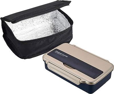 オーエスケー メタルモードNo.3 お弁当箱 保冷バッグ付 ゴールド BL-9HF