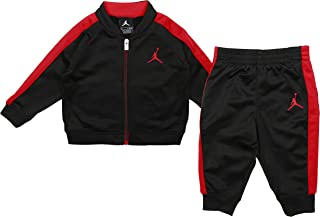 Baby Boys Jordan Two Piece Jumpman Jacket & Pants Set - Black (18M)