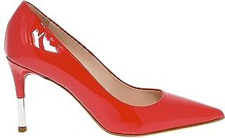 GUIDO SGARIGLIA Women's SGA1300 Red Leather Pumps