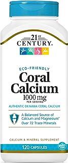 21st Century Coral Calcium 1000 Mg Capsules 120-Count