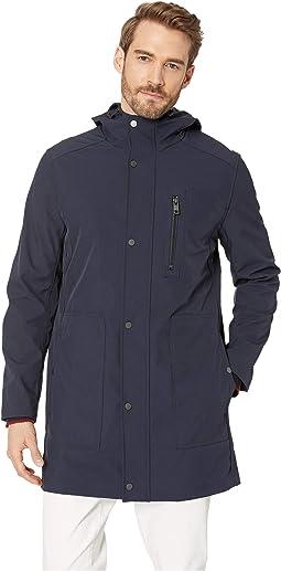 Bonded Jersey Hooded Parka
