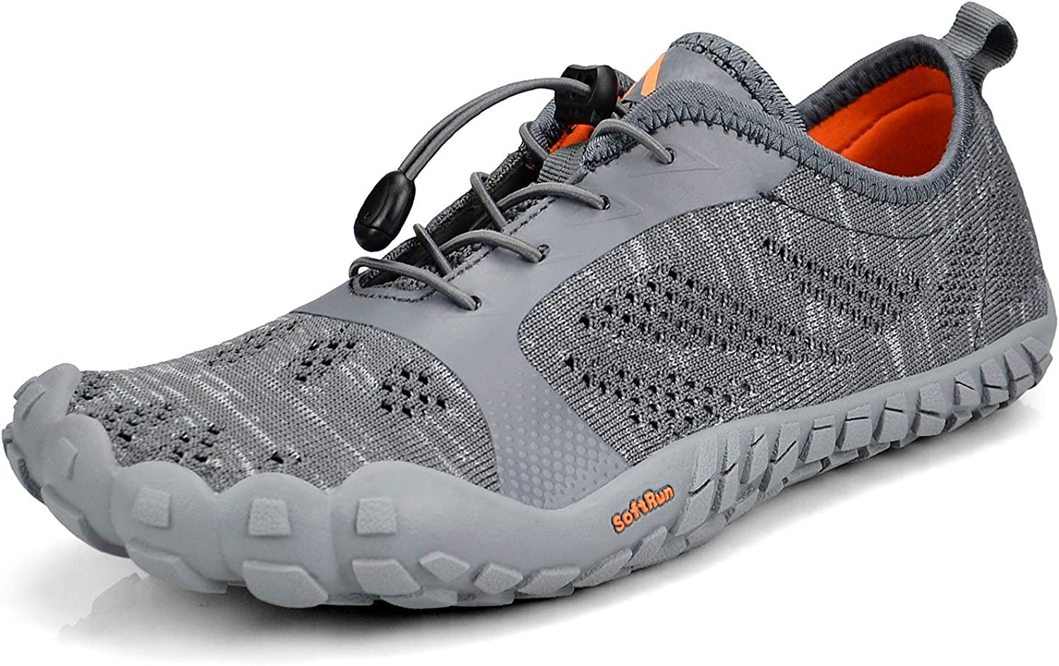 Troadlop Mens Quick Drying Outdoor Lightweight Breathable NonSlip Mesh Hiking Trail Running shoes(Size 6.514 US)