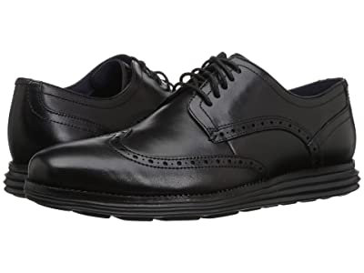 Cole Haan Original Grand Shortwing (Black/Black) Men