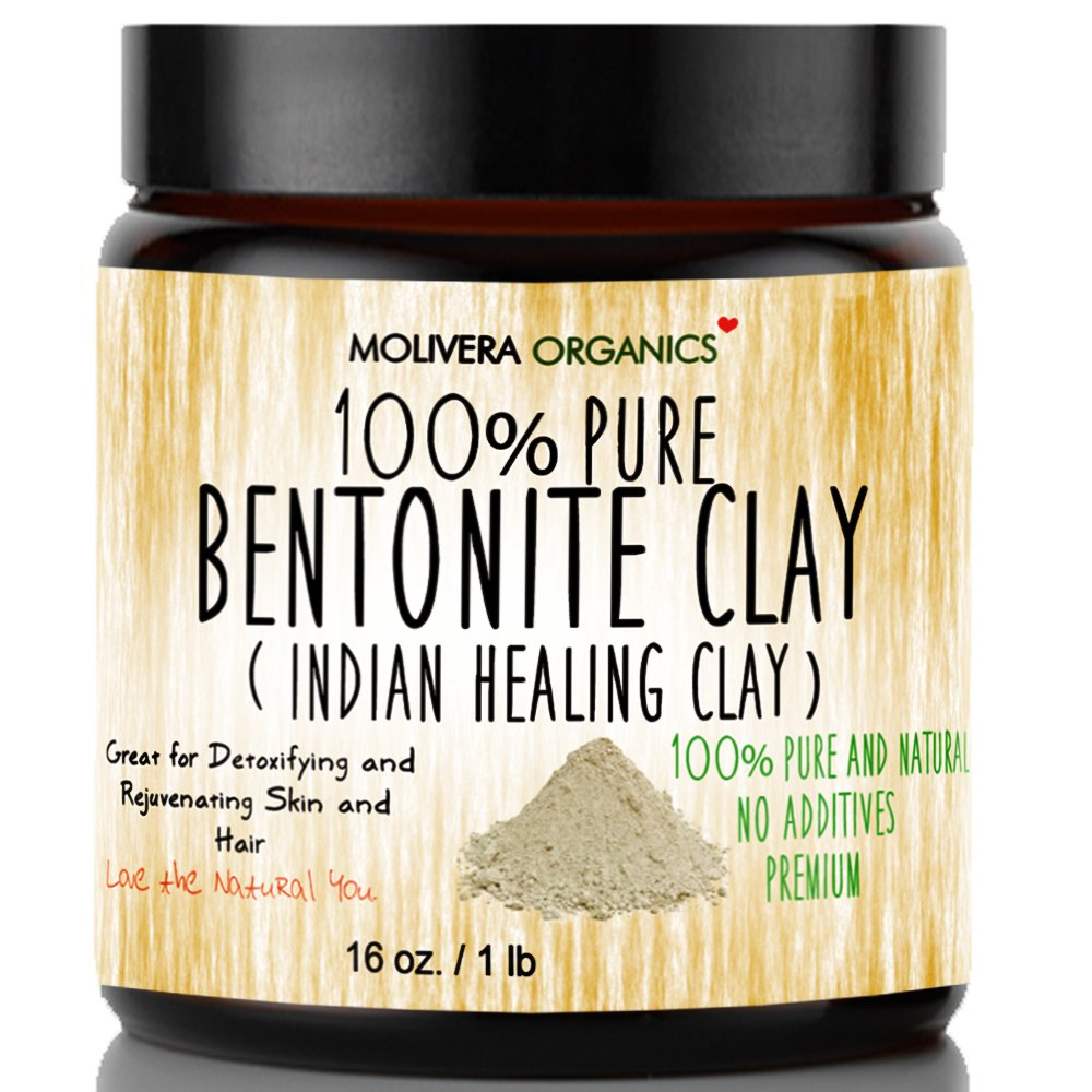 Molivera Organics Bentonite Detoxifying Rejuvenating