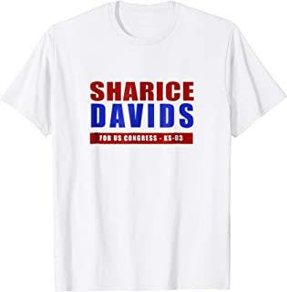 Sharice Davids For Congress T-Shirt Davids Campaign Gift