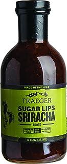 Traeger SAU032 Sugar Lips Sriracha Glaze Sauce, 16 OZ Brown
