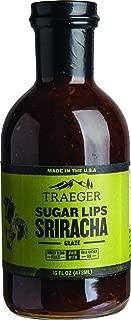 Traeger Grills SAU032 Sugar Lips Sriracha Glaze Sauce, 16 OZ, Brown