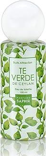 PARFUMS SAPHIR Fruit Attraction Té Verde Eau de Toilette para Mujeres - 100 ml