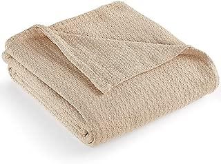 Lauren Ralph Lauren Classic Cotton Bed Blakets (Khaki, Full/Queen)