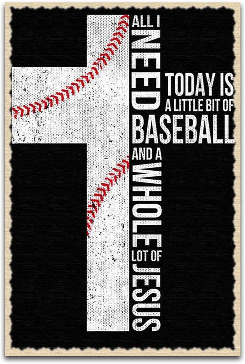 All I Need Baseball Lover 25% OFF Vertical Popular popular And Poster