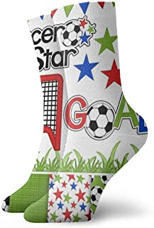Papel de Clipart Digital Fútbol Fútbol Calcetines casuales transpirables Calcetines deportivos de viaje Yoga Caminar Ciclismo Correr Fútbol 30cm