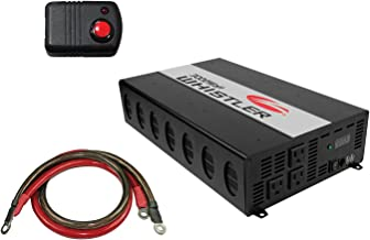 Whistler KITWHI00IS010W XP Series 3000W Continuous (3,000-Watt-Continuous Power Attachment Cable and Inverter Remote Switch Bundle), 3 Pack