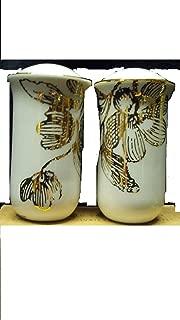Avon Salt & Pepper Shakers Elegant Gold Expressions