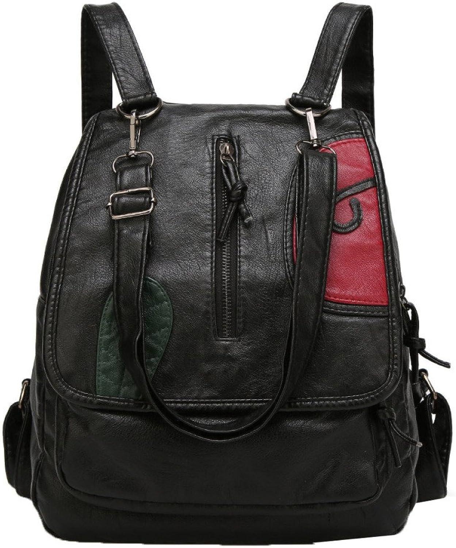 DHFUD,Hit Farbe Damen Umhängetasche Große Kapazität Freizeit Rucksack Tasche B078Y7TD46  Niedriger Preis