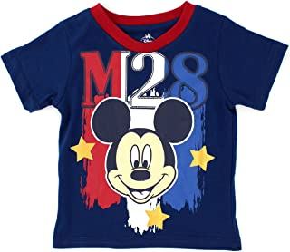 Disney Mickey Mouse Boys Stars and Stripes Short Sleeve Tee (Baby/Toddler)