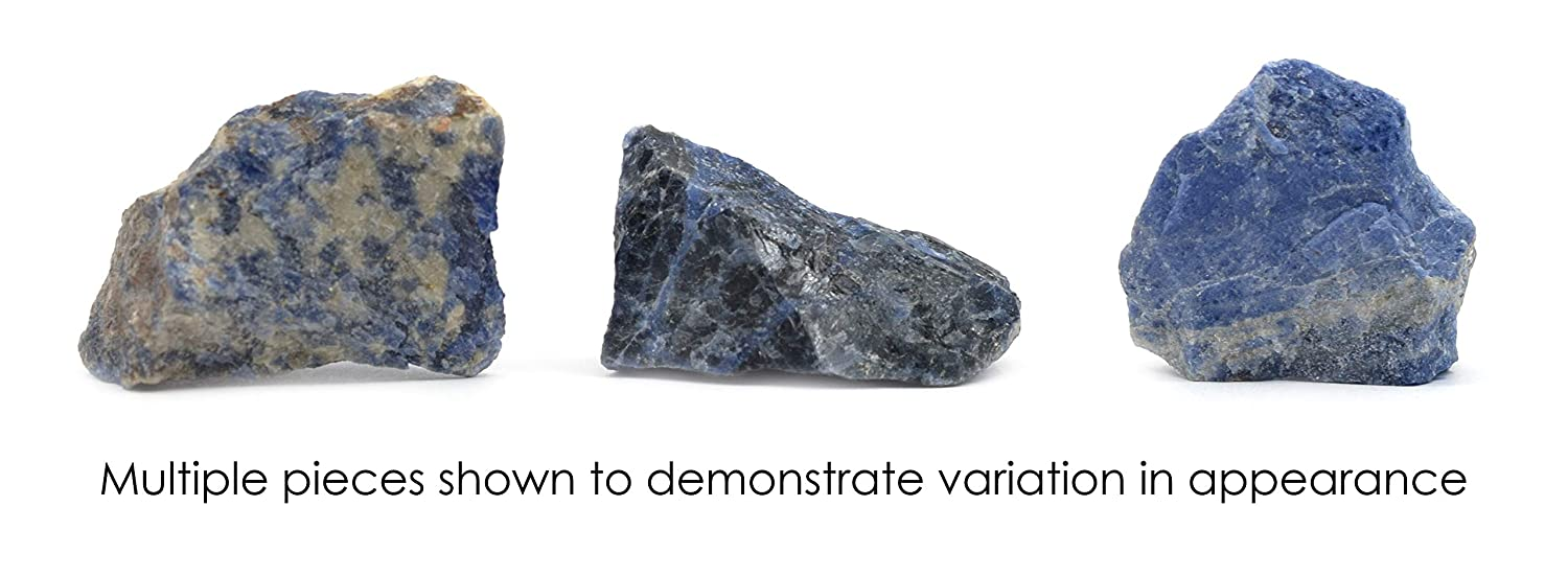 Natural Sodalite 100/% Authentic Brazilian Sodalite The Artisan Mined Series by hBAR Untreated Specimen 1oz Rough