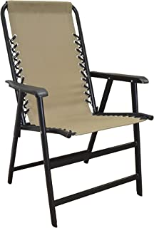 Caravan Sports Suspension Folding Chair, Beige