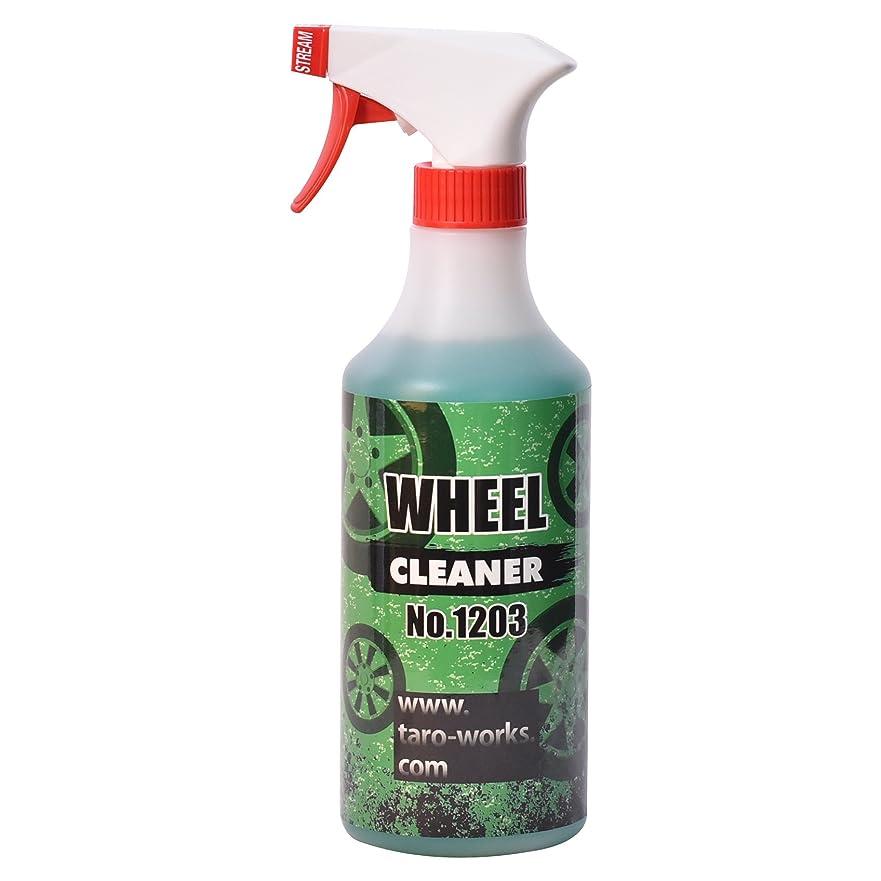 短くするダルセット正しく[TARO WORKS] 洗車 ホイールシャンプー クリーナー 日本製 500ml 「ホイール タイヤ ブレーキダスト の頑固な汚れに」