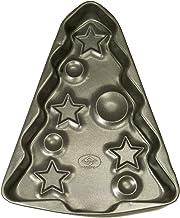 Vespa Stampo per Torte a Forma di Albero di Natale Antiaderente, Alluminio, Nero, Unica