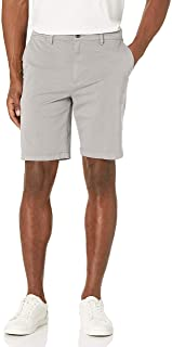 "Goodthreads Men's Slim-Fit 9"" Flat-Front Comfort Stretch Chino Short"