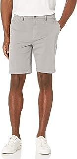 "Amazon Brand - Goodthreads Men's Slim-Fit 9"" Inseam Flat-Front Comfort Stretch Chino Shorts"