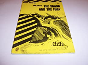 CliffsNotes on Faulkner's The Sound and the Fury (Cliffsnotes Literature Guides)