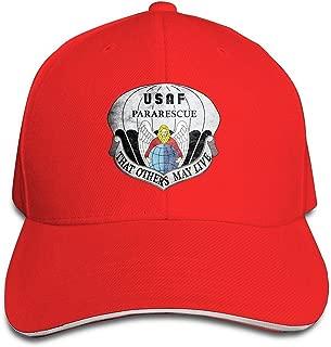 BOoottty United States Air Force Pararescue Emblem Flex Baseball Cap Black
