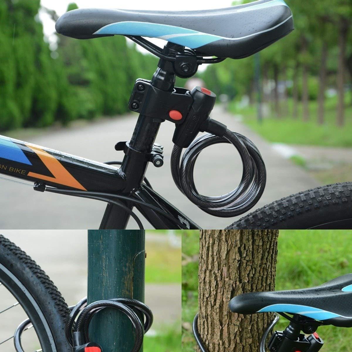 FDCW Candado de bicicleta/Candado de bicicleta de montaña/Candado ...