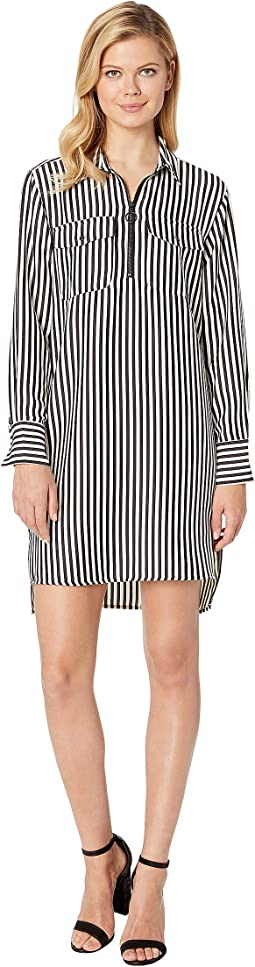 Downtown Stripe Black E-Cream
