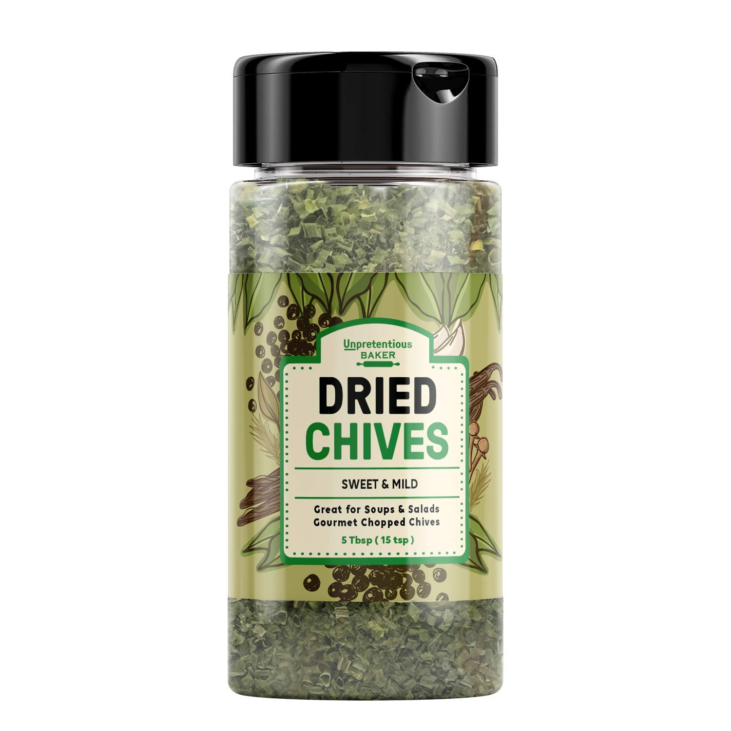 Dried Chives 5 Milwaukee Mall Tbsp Thin store Gourmet Chopped T Delicate