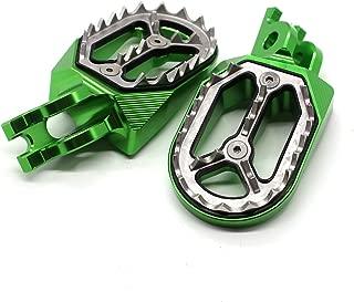 Dirt Bike Foot pegs Pedals Footrest for Suzuki RMZ250 2005-2006, RM250 2006-2008, Honda CR125 CR250 2002-2008, CRF 250X 250R CRF250X CRF250R 2004-2015, CRF450X CRF450R 2002-2015, CRF 150R 2007-2015